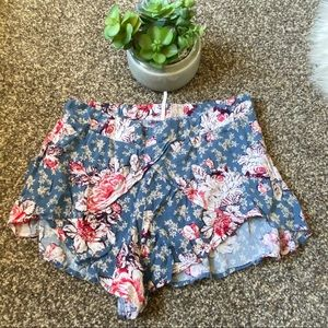 🆕Free People Floral Flowy Shorts